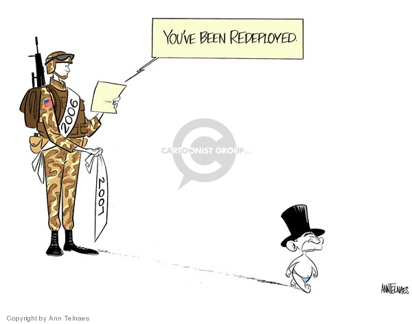 Cartoonist Ann Telnaes  Ann Telnaes' Editorial Cartoons 2006-12-27 stop
