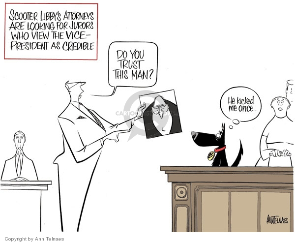 Ann Telnaes  Ann Telnaes' Editorial Cartoons 2007-01-17 selection