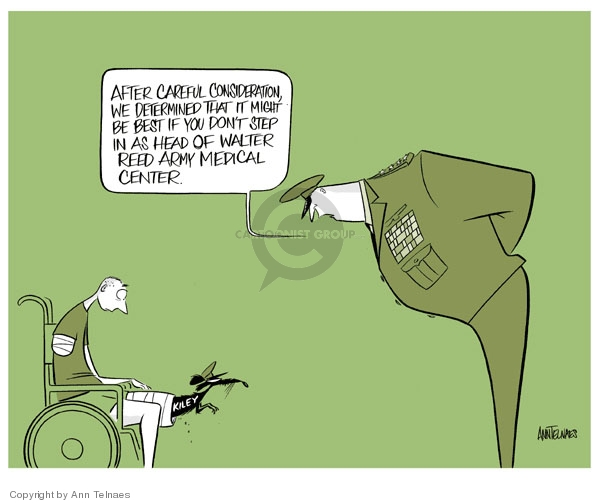 Cartoonist Ann Telnaes  Ann Telnaes' Editorial Cartoons 2007-03-03 army