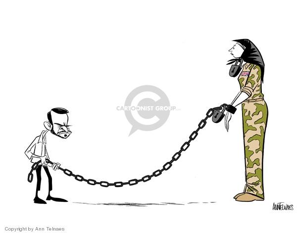 Ann Telnaes  Ann Telnaes' Editorial Cartoons 2007-04-01 Mahmoud Ahmadinejad