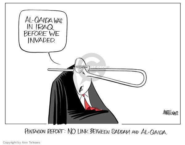 Ann Telnaes  Ann Telnaes' Editorial Cartoons 2007-04-07 nose