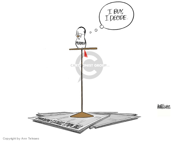 Ann Telnaes  Ann Telnaes' Editorial Cartoons 2007-05-03 freedom of the press