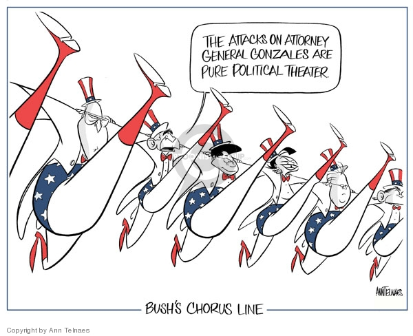 Ann Telnaes  Ann Telnaes' Editorial Cartoons 2007-05-22 remark