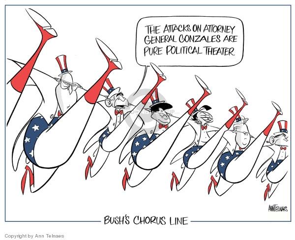 Ann Telnaes  Ann Telnaes' Editorial Cartoons 2007-05-22 line