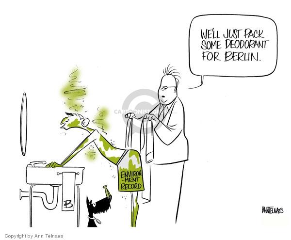 Ann Telnaes  Ann Telnaes' Editorial Cartoons 2007-06-01 United Nations