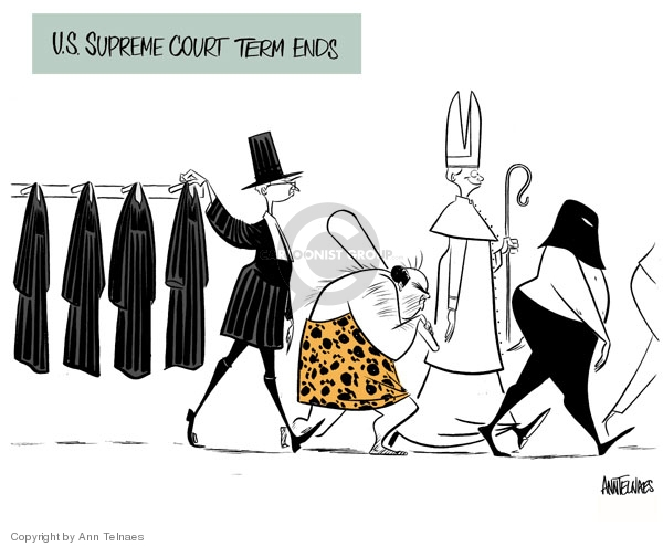Ann Telnaes  Ann Telnaes' Editorial Cartoons 2007-06-28 religious
