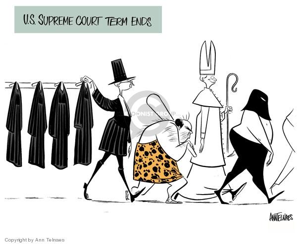 Ann Telnaes  Ann Telnaes' Editorial Cartoons 2007-06-28 court