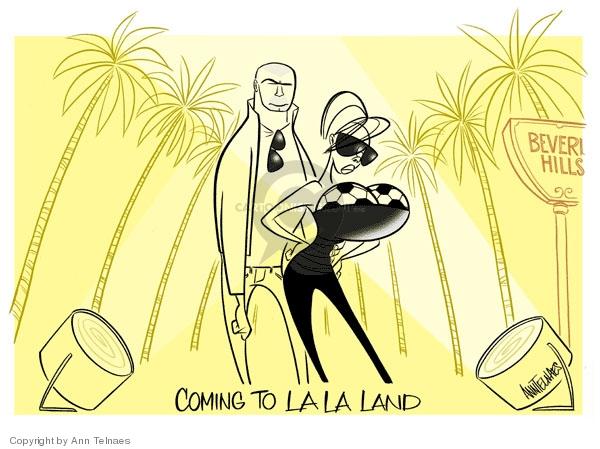 Ann Telnaes  Ann Telnaes' Editorial Cartoons 2007-07-14 land