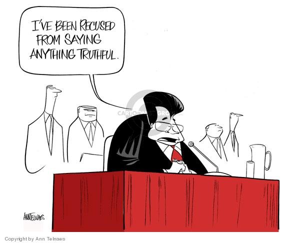 Cartoonist Ann Telnaes  Ann Telnaes' Editorial Cartoons 2007-07-24 hearing