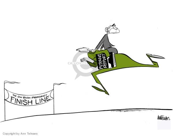 Ann Telnaes  Ann Telnaes' Editorial Cartoons 2007-09-09 line