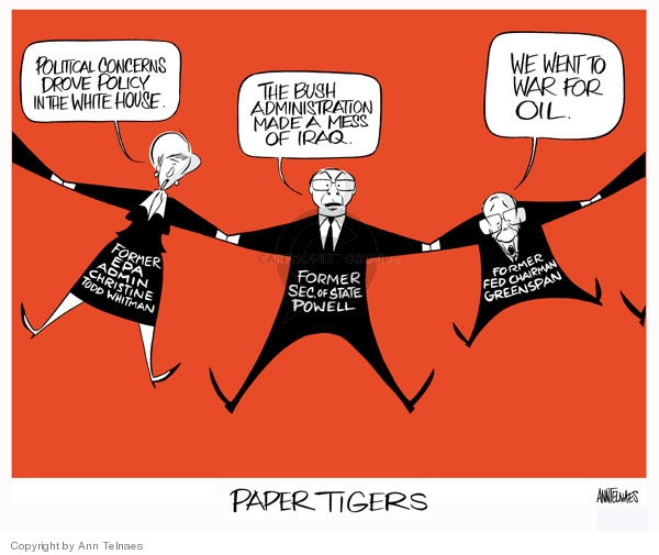 Ann Telnaes  Ann Telnaes' Editorial Cartoons 2007-09-18 admin