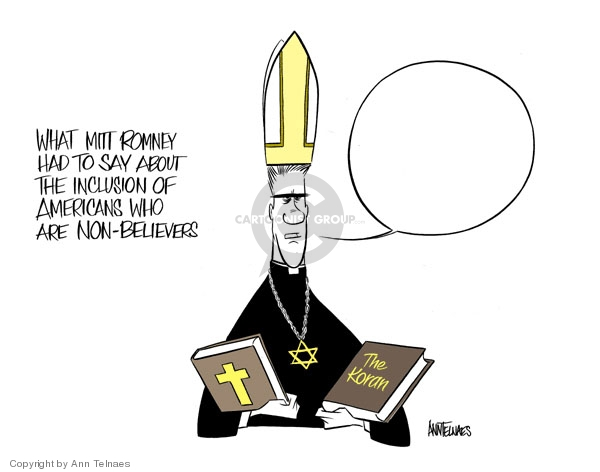 Ann Telnaes  Ann Telnaes' Editorial Cartoons 2007-12-07 religious