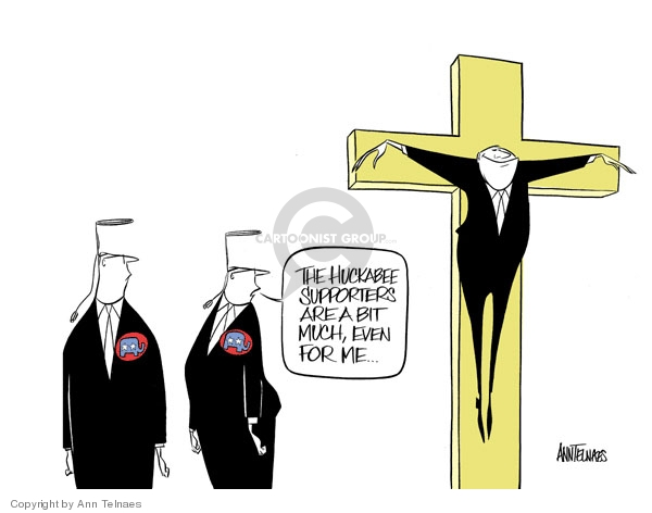 Ann Telnaes  Ann Telnaes' Editorial Cartoons 2007-12-19 religious