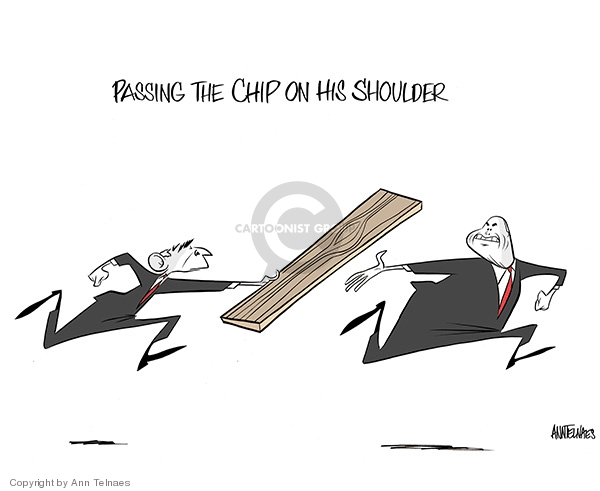 Ann Telnaes  Ann Telnaes' Editorial Cartoons 2008-02-02 John McCain