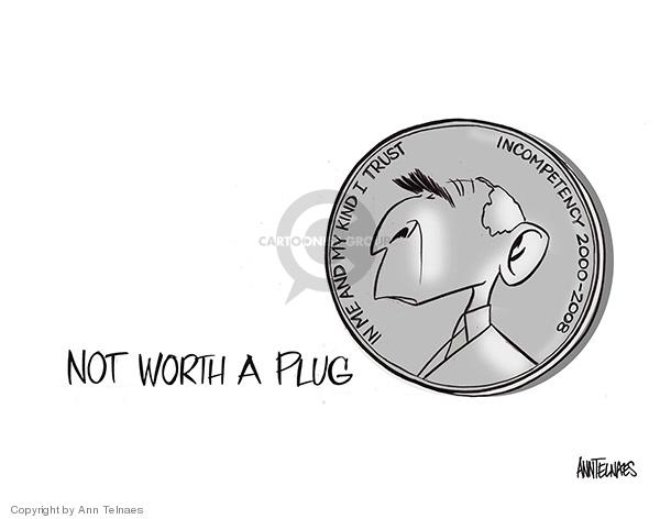 Ann Telnaes  Ann Telnaes' Editorial Cartoons 2008-03-23 Bush term