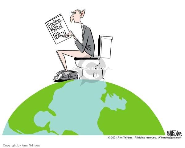 Ann Telnaes  Ann Telnaes' Editorial Cartoons 2001-03-23 environment
