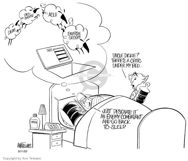 Ann Telnaes  Ann Telnaes' Editorial Cartoons 2002-06-11 environmental