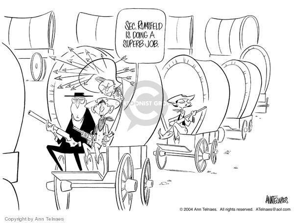 Ann Telnaes  Ann Telnaes' Editorial Cartoons 2004-05-10 George W. Bush
