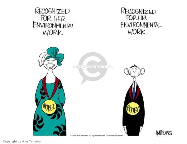 Ann Telnaes  Ann Telnaes' Editorial Cartoons 2004-10-10 environmental protection