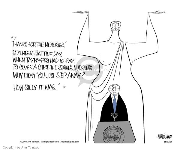 Ann Telnaes  Ann Telnaes' Editorial Cartoons 2004-11-10 pay