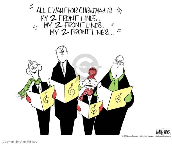 Ann Telnaes  Ann Telnaes' Editorial Cartoons 2004-12-19 line