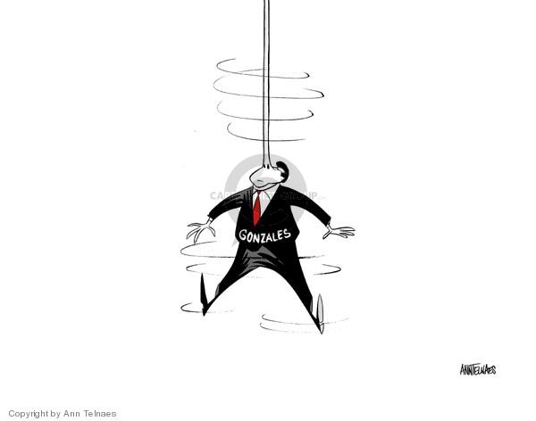 Ann Telnaes  Ann Telnaes' Editorial Cartoons 2007-04-20 Pinocchio