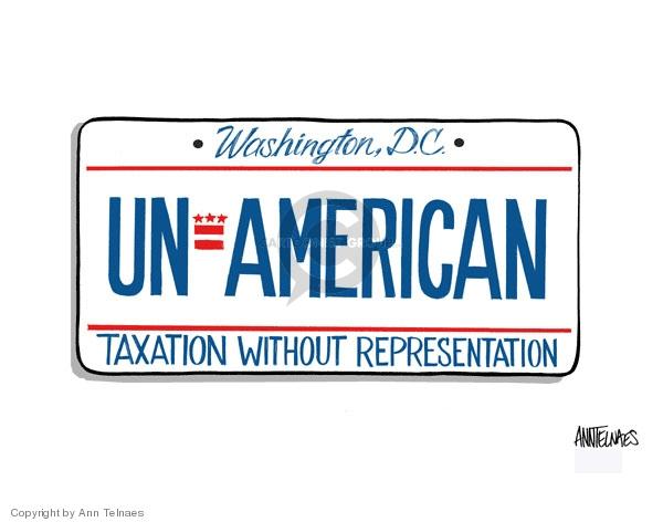 Ann Telnaes  Ann Telnaes' Editorial Cartoons 2007-09-20 vote