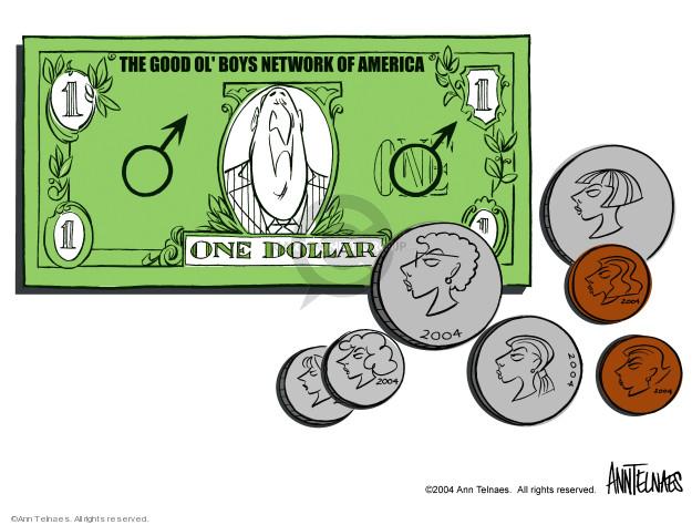 Ann Telnaes  Ann Telnaes' Editorial Cartoons 2004-06-01 $1.00