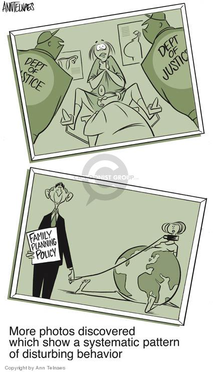 Ann Telnaes  Ann Telnaes' Editorial Cartoons 2004-06-21 pro-choice