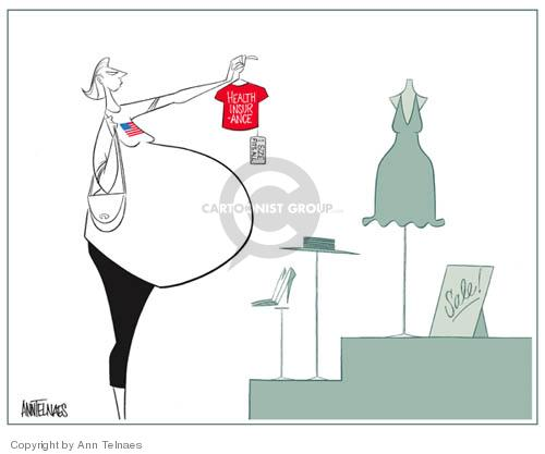Ann Telnaes  Ann Telnaes' Editorial Cartoons 2004-04-01 clothing