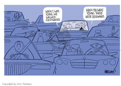 Ann Telnaes  Ann Telnaes' Editorial Cartoons 2004-03-01 automobile
