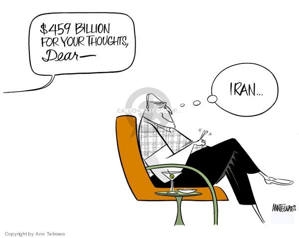 Ann Telnaes  Ann Telnaes' Editorial Cartoons 2007-10-11 Dick Cheney