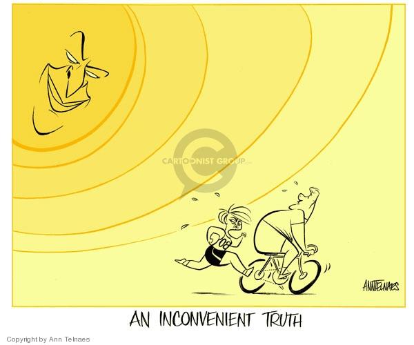 Cartoonist Ann Telnaes  Ann Telnaes' Editorial Cartoons 2007-10-12 global warming