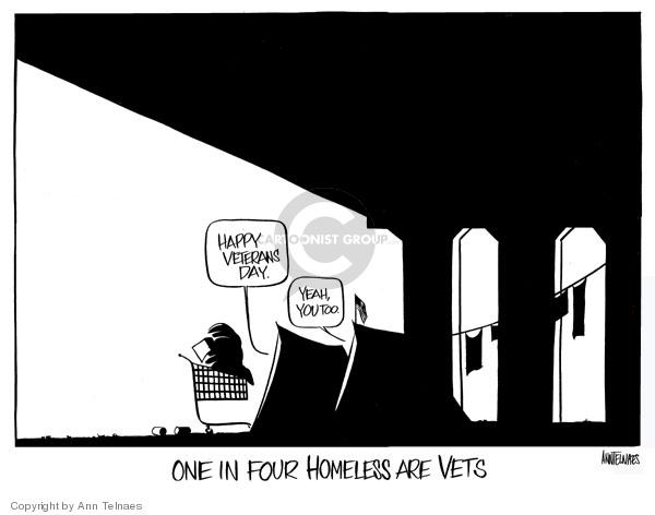 Ann Telnaes  Ann Telnaes' Editorial Cartoons 2007-11-11 military