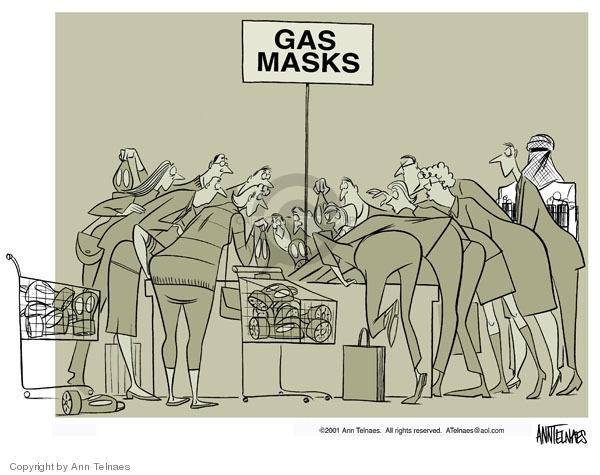 Ann Telnaes  Ann Telnaes' Editorial Cartoons 2001-10-17 war