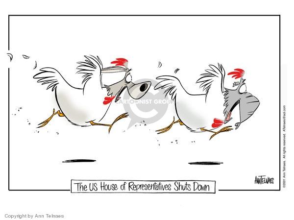 Cartoonist Ann Telnaes  Ann Telnaes' Editorial Cartoons 2001-10-18 democrat