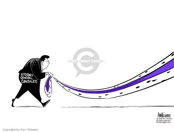 Ann Telnaes  Ann Telnaes' Editorial Cartoons 2006-02-08 Bush administration