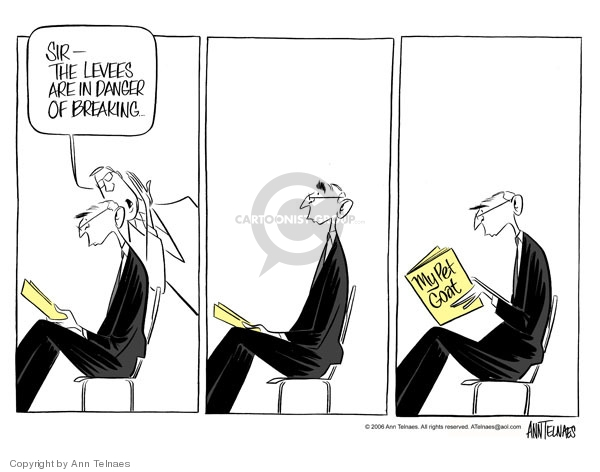 Ann Telnaes  Ann Telnaes' Editorial Cartoons 2006-03-04 disaster