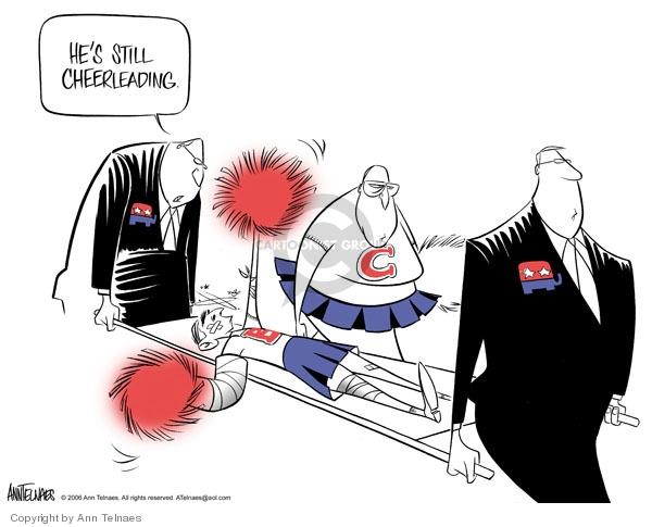 Ann Telnaes  Ann Telnaes' Editorial Cartoons 2006-03-09 Bush administration