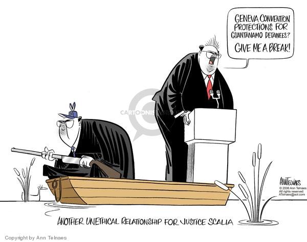 Cartoonist Ann Telnaes  Ann Telnaes' Editorial Cartoons 2006-03-29 unethical