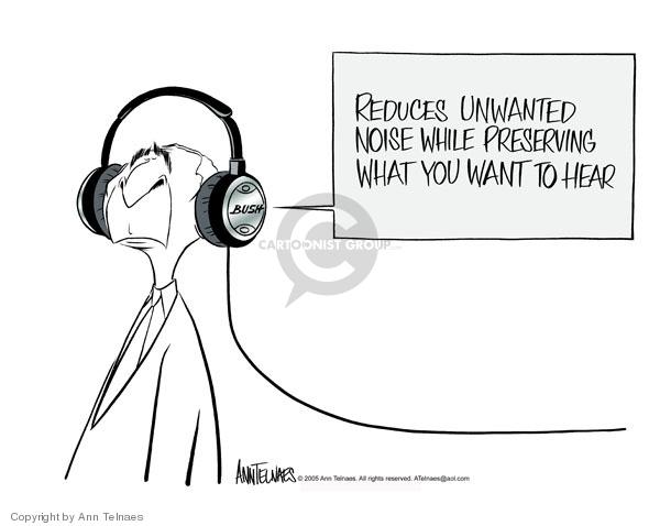 Cartoonist Ann Telnaes  Ann Telnaes' Editorial Cartoons 2005-12-15 hear