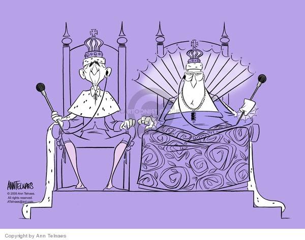 Ann Telnaes  Ann Telnaes' Editorial Cartoons 2005-12-19 royalty