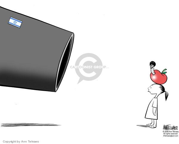 Cartoonist Ann Telnaes  Ann Telnaes' Editorial Cartoons 2006-07-31 fatality