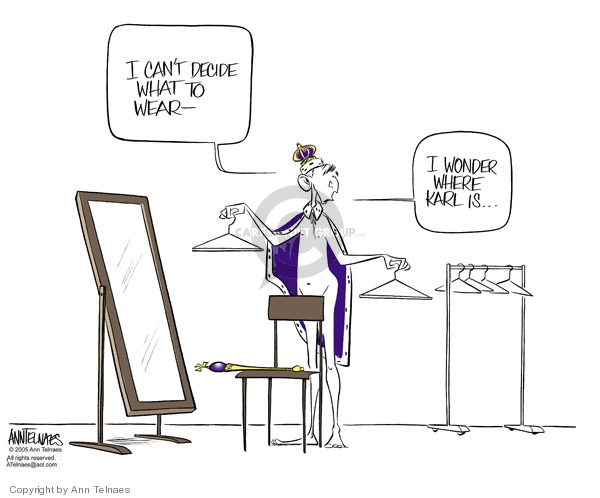 Ann Telnaes  Ann Telnaes' Editorial Cartoons 2005-10-24 Bush administration