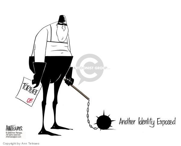 Ann Telnaes  Ann Telnaes' Editorial Cartoons 2005-10-26 enemy