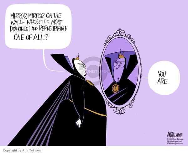 Ann Telnaes  Ann Telnaes' Editorial Cartoons 2005-11-18 Dick Cheney
