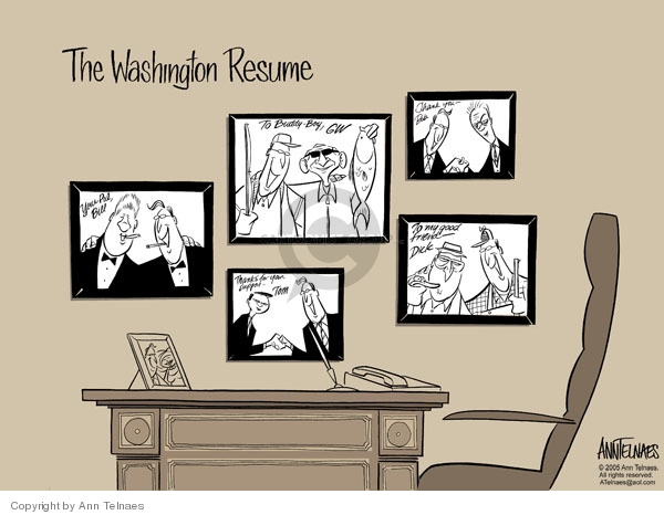 Ann Telnaes  Ann Telnaes' Editorial Cartoons 2005-09-13 resume