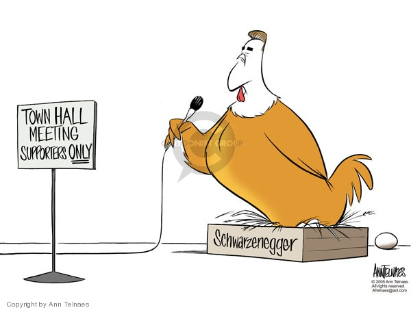 Ann Telnaes  Ann Telnaes' Editorial Cartoons 2005-10-12 supporter
