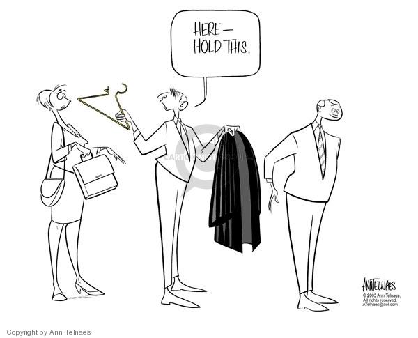 Ann Telnaes  Ann Telnaes' Editorial Cartoons 2005-07-20 discrimination