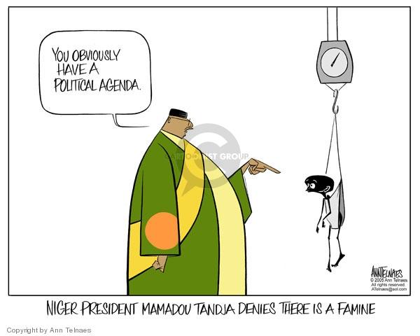Ann Telnaes  Ann Telnaes' Editorial Cartoons 2005-08-11 Africa